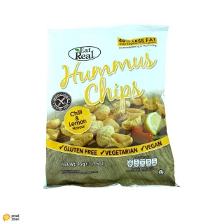 Hummus Chips - chilli a citron 45 g